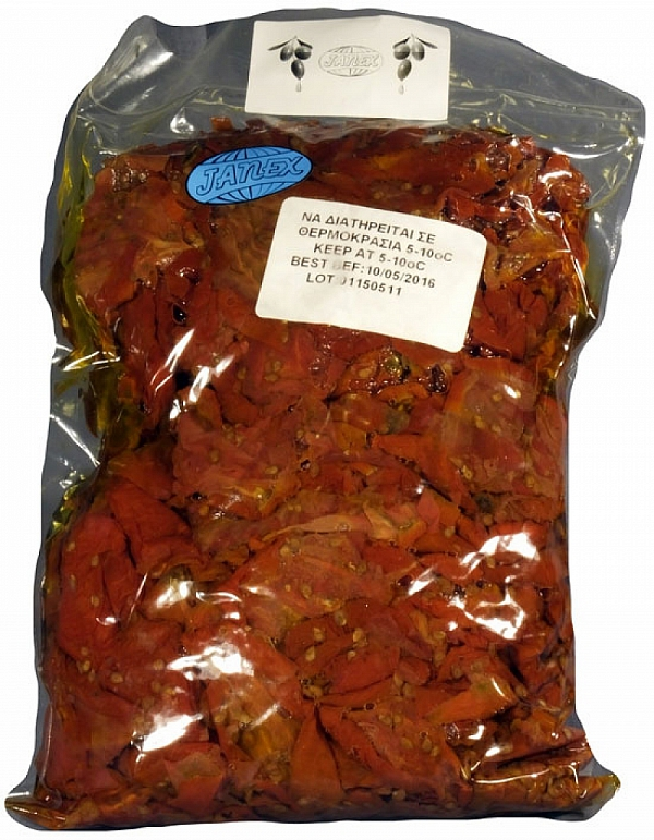 Sundried tomatoes in olive oil 1400 g ( gastro packaging )
